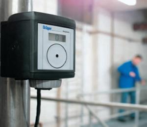 Polytron 3000 em uso detector de gás