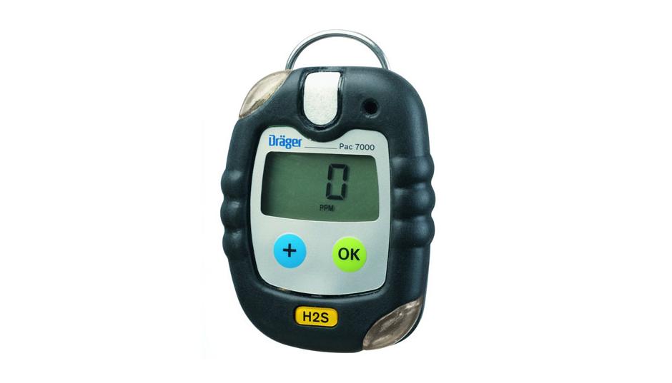 PAC 7000 detector de gás portátil