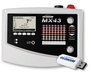 mx43 detector de vazamento de gás