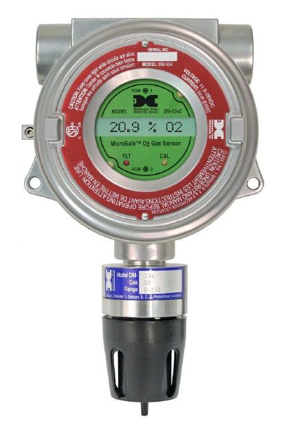 Detector de gás fixo Microsafe