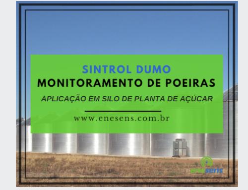Soluções de Monitoramento de Poeiras | Silo de Planta de Açúcar