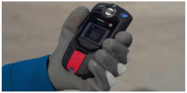 Detecção de Gás Portátil Wireless | Segurança Conectada
