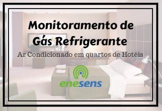 Gás Refrigerante | Monitoramento contínuo em ar condicionado de quartos de hotel
